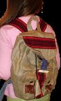 Рюкзак на мішковині