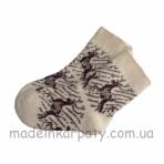 Socks from wool women.