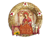 Оберіг з ликами святих