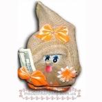 Домовичок оберіг дівчинка (на гроші)