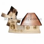 Дом и мельница