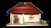 Копилка домик (большой)
