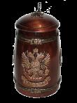 Бокал герб России 700 гр.