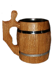 Mug scratched (artificially aged)