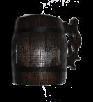 Бочка тёмная