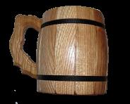 Barrel shaped handle
