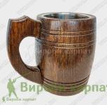 Drewniana szklanka do piwa