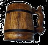 """Drewniana szklanka do piwa """"Retro"""""""