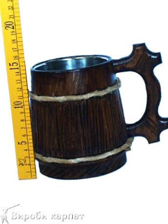 Купить бокал деревянный