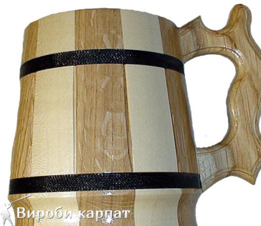 Купить кружку деревянную