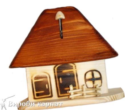 Купити дерев'яну скарбничку ручної роботи