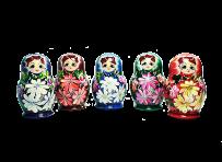 Мотрійки, іграшки з дерева