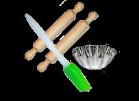 Форми та інструмент для випічки