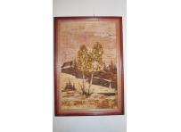 Paintings birch bark