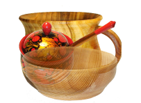 Посуд з деревини