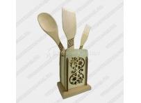 Widelce, noże, miarki kuchenne