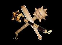 Деревянные биты, ракета булава