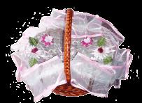 Декор для плетеных корзин